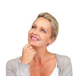 Menopausal Woman Pondering